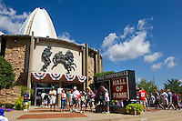 07 August 2010: The Pro Football Hall of Fame in Canton, Ohio.