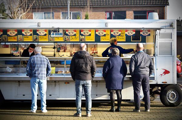 Nederland, Millingen, 18-1-2018GGD ziet toename mensen met overgewicht in het dorp Millingen. Gebrek aan beweging, slecht eten,inkomen,Foto: Flip Franssen