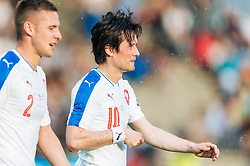 27.05.2016, Grenzlandstadion, Kufstein, AUT, Testspiel, Tschechien vs Malta, im Bild Pavel Kaderabek (CZE), Tomas Rosicky (CZE) // Pavel Kaderabek of Czech Republic, Tomas Rosicky of Czech Republic during the International Friendly Match between Czech Republic and Malta at the Grenzlandstadion in Kufstein, Austria on 2016/05/27. EXPA Pictures © 2016, PhotoCredit: EXPA/ JFK