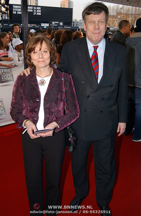 TMF Awards 2005, Ivo Opstelten en partner