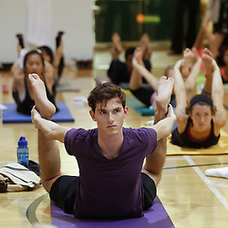 UM's Largest Yoga Class - 9/23/15