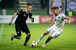 Tomi Horvat and Blaž Vrhovec of Maribor during football match between NŠ Mura and NK Maribor in semifinal Round of Pokal Telekom Slovenije 2018/19, on April 24, 2019 in Fazanerija, Murska Sobota, Slovenia. Photo by Blaž Weindorfer / Sportida