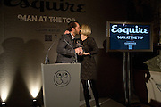ROBERT BRADY; MARIELLA FROSTRUP ,  Esquire Man at the Top Awards 2008. Haymarket Hotel. London. 3 November 2008 *** Local Caption *** -DO NOT ARCHIVE -Copyright Photograph by Dafydd Jones. 248 Clapham Rd. London SW9 0PZ. Tel 0207 820 0771. www.dafjones.com