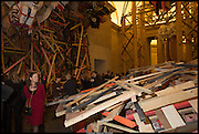 Tate Britain Commission 2014: Phyllida Barlow, Tate Britain. Millbank. London. 31 March 2014.