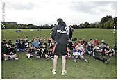 Saracens Masterclass at Hemel Hempstead RFC. 28-10-08. Presentation pics