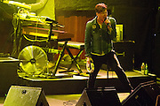 The Kaiser Chiefs headline at the Fillmore Auditorium in San Francisco, Calif., on March 20, 2012.  Photo by Stan Olszewski/SOSKIphoto