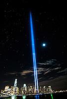 World Trade Center Tribute Lights, 9/11