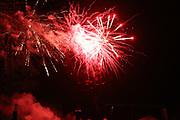 Mannheim. 29.07.17 | ID 060 |<br /> Maimarktgel&auml;nde. Pyrogames. Feuerwerker in vier Teams z&uuml;nden ihre Feuerwerkchoreografien ab und lassen sich vom Publikum bewerten. <br /> <br /> Bild: Markus Pro&szlig;witz 29JUL17 / masterpress
