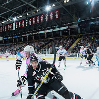 101415 Red Deer Rebels at Kelowna Rockets - Pink