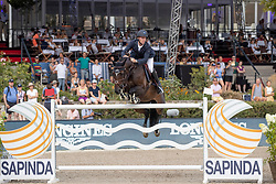 Bruynseels Niels, BEL, Cas de Liberte<br /> Grand Prix of Berlin<br /> Longines Global Champion Tour of Berlin 2018<br /> © Hippo Foto - Stefan Lafrentz