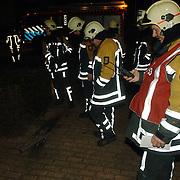 NLD/Huizen/20060223 - Brandweerman hans Horstmeijer neemt afscheid van de brandweer Huizen