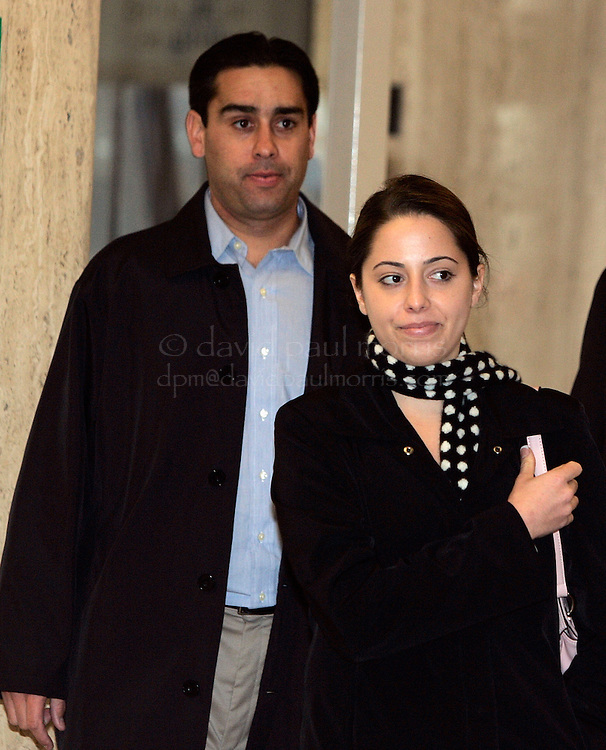REDWOOD CITY, CA - DECEMBER 6: Brent Rocha (L) and Amy  Rocha the brother and half sister of Laci Peterson arrive for the continuing of the Scott Peterson sentencing phase on December 6, 2004 at the San Mateo County courthouse in Redwood City, California .  Peterson was found guilty of first degree murder of his wife Laci and second degree murder of their unborn son and could face the death penalty. (Photo by David Paul Morris/Getty Images)POOL PHOTO