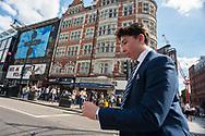 Londra, 13/08/2017: Oxford street.<br /> © Andrea Sabbadini