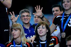 23-08-2009 VOLLEYBAL: WGP FINALS CEREMONY: TOKYO <br /> Brazilie met wint de World Grand Prix 2009<br /> ©2009-WWW.FOTOHOOGENDOORN.NL