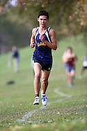 (Ottawa, Canada---14 October 2016) A Glebe Collegiate runner competing in the High School Capital X Country Challenge varsity boys 6 km race.<br /> <br /> Package deals are available for multiple photographs. Contact the photographer at seanburges@yahoo.com or seanburges@mundosportimages.com