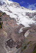 The Nisqually Glacier from Nisqually Vista, Mount Rainier National Park, Washington