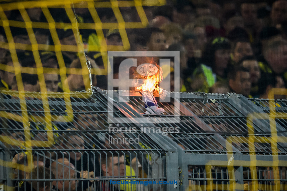Fans of Borussia Dortmund during the Bundesliga match at Signal Iduna Park, Dortmund<br /> Picture by EXPA Pictures/Focus Images Ltd 07814482222<br /> 29/10/2016<br /> *** UK &amp; IRELAND ONLY ***<br /> EXPA-EIB-161030-0039.jpg