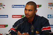 CLT20 - Hoghveld Lions Press Conference 12th October 2012