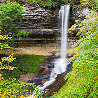 Munising Falls, in Pictured Rocks National Lakeshore, Munising, MI
