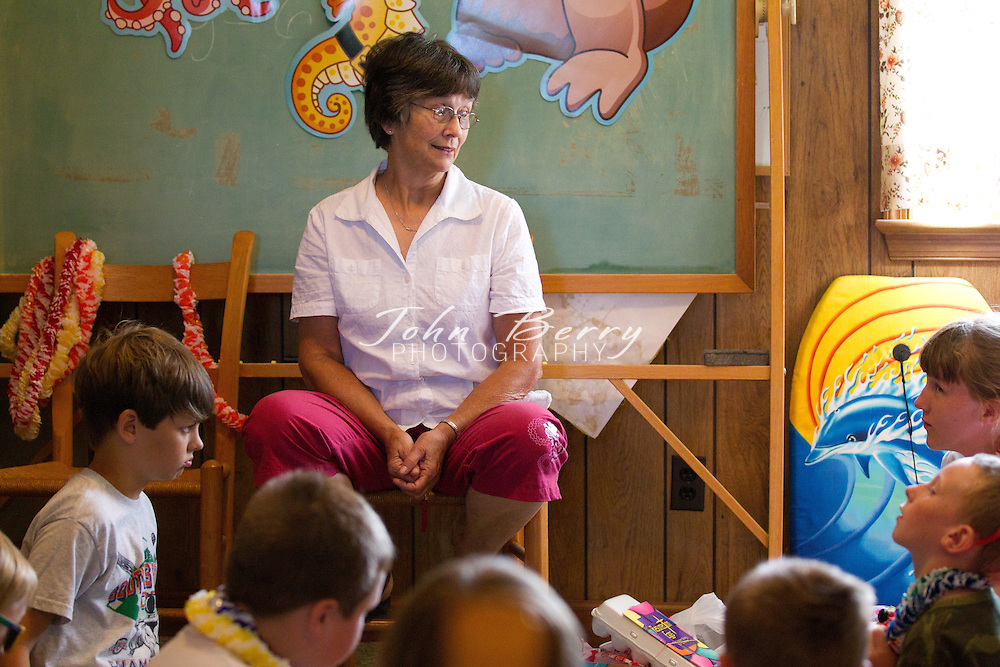 July/1/10:  Mt Zion United Methodist Church, Vacation Bible School