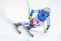 19.12.2018, Saslong, St. Christina, ITA, FIS Weltcup Ski Alpin, SuperG, Damen, im Bild Priska Nufer (SUI) // Priska Nufer of Switzerland in action during her run in the ladie's Super-G of FIS ski alpine world cup at the Saslong in St. Christina, Italy on 2018/12/19. EXPA Pictures © 2018, PhotoCredit: EXPA/ Johann Groder