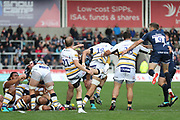 Michael Heaney Worcester Warriors during the Gallagher Premiership Rugby match between Sale Sharks and Worcester Warriors at the AJ Bell Stadium, Eccles, United Kingdom on 9 September 2018.