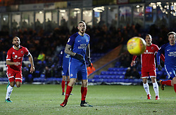 Marcus Maddison of Peterborough United looks on as his penalty is saved - Mandatory by-line: Joe Dent/JMP - 27/02/2018 - FOOTBALL - ABAX Stadium - Peterborough, England - Peterborough United v Walsall - Sky Bet League One