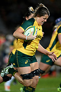 SYDNEY, AUSTRALIA - JULY 19: Grace Hamilton (8) of the Wallaroos runs in to score a try during the second rugby test match between the Australian Wallaroos and Japan on July 19, 2019 at North Sydney Oval in Sydney, Australia. (Photo by Speed Media/Icon Sportswire)