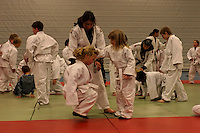 Afghan trainers visiting Tynset Judo club (march 2007)....-....Afghanske trenere holder trening på Tynset judoklubb