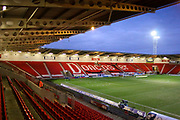Stadium view ahead of the EFL Sky Bet League 1 match between Doncaster Rovers and Bradford City at the Keepmoat Stadium, Doncaster, England on 19 March 2018. Picture by Aaron  Lupton.