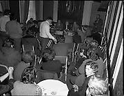 TD,s Press Conference at Wynns Hotel..1981..20.04.1981..04.20.1981..20th April 1981..After their visit to Hunger Striker, Bobby Sands, the TD's held a press conference at Wynns Hotel, Abbey Street, Dublin..Image shows the assembled press groups at the Bobby Sands press conference in Wynn Hotel, Dublin.