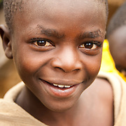 A young boy from Gatovu Community in Kisaro Sector, Rulindo District, Rwanda.