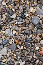 stone on Michigan beach, Petoskey stones