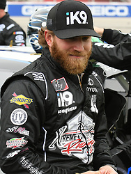 February 23, 2019 - Hampton, GA, U.S. - HAMPTON, GA - FEBRUARY 23: Jeffrey Earnhardt, Joe Gibbs Racing, Toyota Supra Extreme Concepts/ik9 (18) before the Xfinity Series Rinnai 250 on February 23, 2019, at Atlanta Motor Speedway in Hampton, GA.(Photo by Jeffrey Vest/Icon Sportswire) (Credit Image: © Jeffrey Vest/Icon SMI via ZUMA Press)
