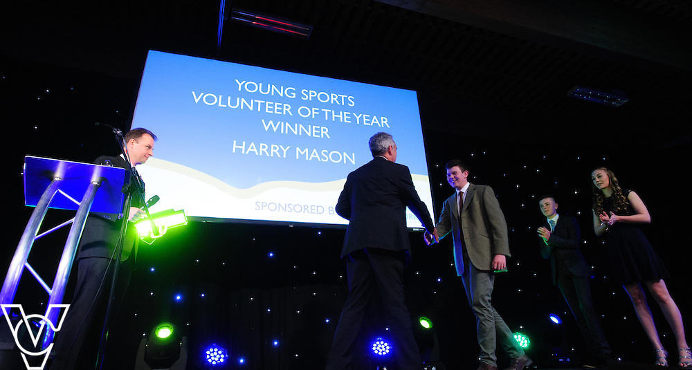 Lincolnshire Sport Awards 2016:<br /> <br /> Young Sports Volunteer of the Year sponsored by Lincolnshire School Sports Network.  Winner: Harry Mason.  Runners-up: Hannah Berwick and Owen Swaine.<br /> <br /> The 2016 Lincolnshire Sport Awards, organised by Lincolnshire Sport, and held at the Showground, Lincoln.<br /> <br /> Picture: Chris Vaughan Photography for Lincolnshire Sport<br /> Date: November 3, 2016
