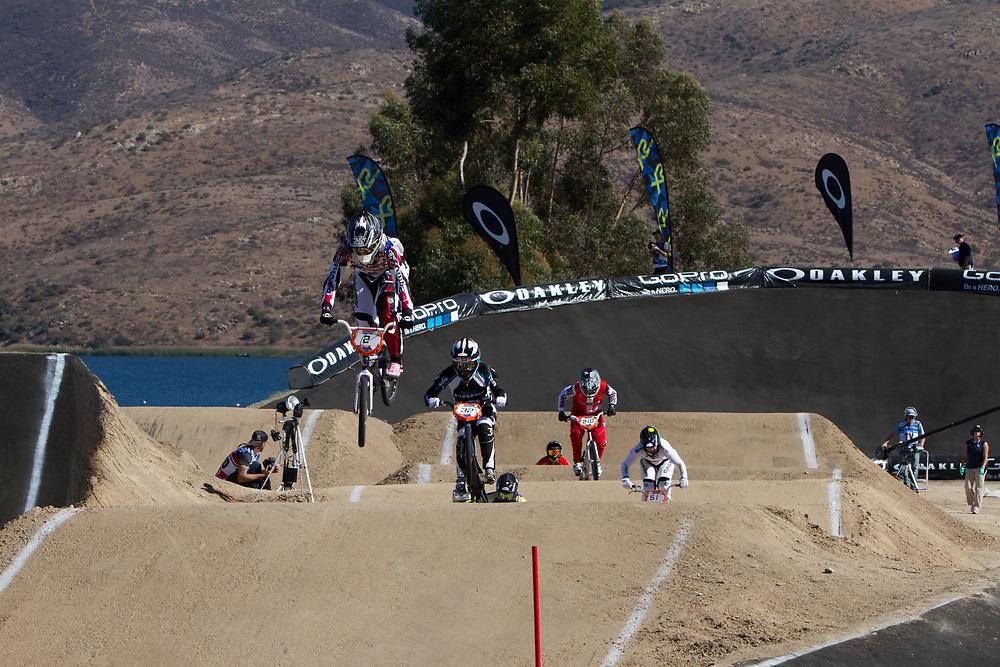 #2 (REYNOLDS Lauren) AUS at the 2013 UCI BMX Supercross World Cup in Chula Vista