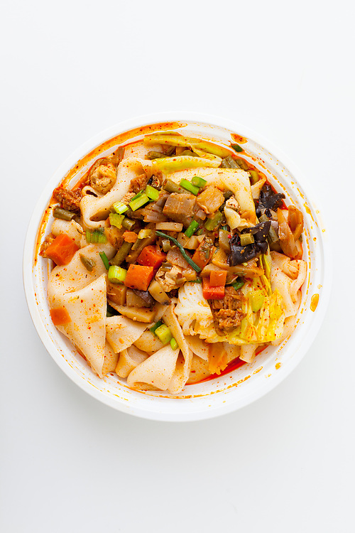 Mount Qi Vegetable Noodles from Xi'an Famous Foods ($10.85)