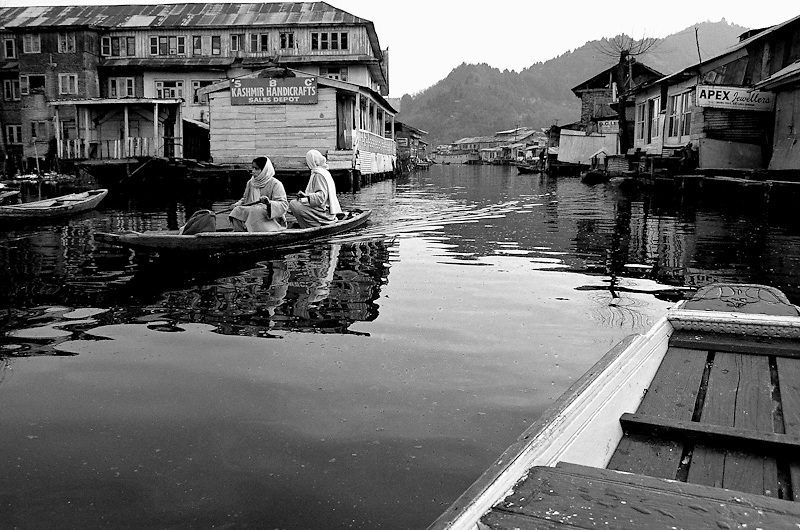 Dal Lake Srinagar India occupied Kashmir 2007