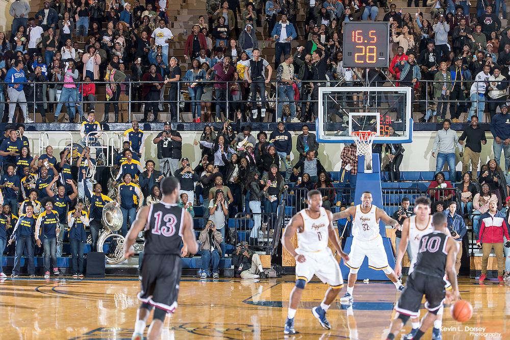 2016-17 A&T Men's Basketball vs NCCU \ www.ncataggies.com - Photo by: Kevin L. Dorsey