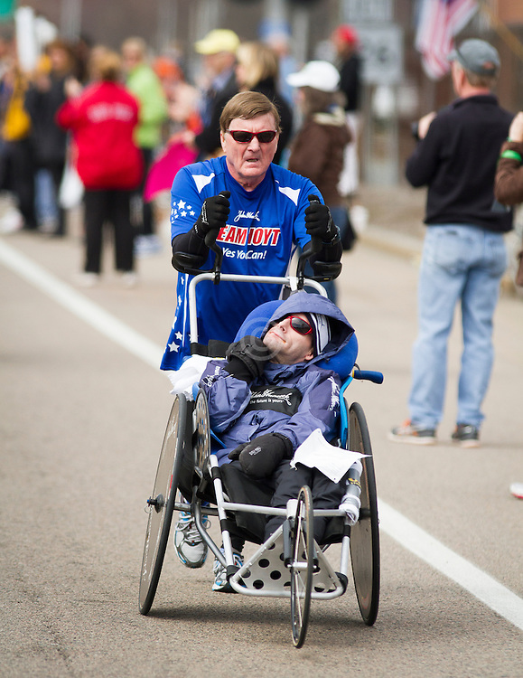 2013 Boston Marathon: Team Hoyt
