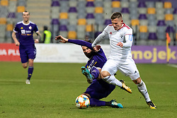 during football match between NŠ Mura and NK Maribor in 20th Round of Prva liga Telekom Slovenije 2018/19, on February 23, 2019 in Ljudski Vrt, Maribor, Slovenia. Photo by Blaž Weindorfer / Sportida