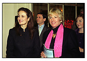 ISABEL GOLDSMITH, CAROL THATCHER, TATLER TRAVEL AWARDS, Ritz, 1998