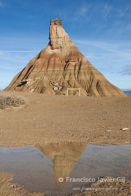 Castildetierra in the Bardenas reales, Navarra, Spain