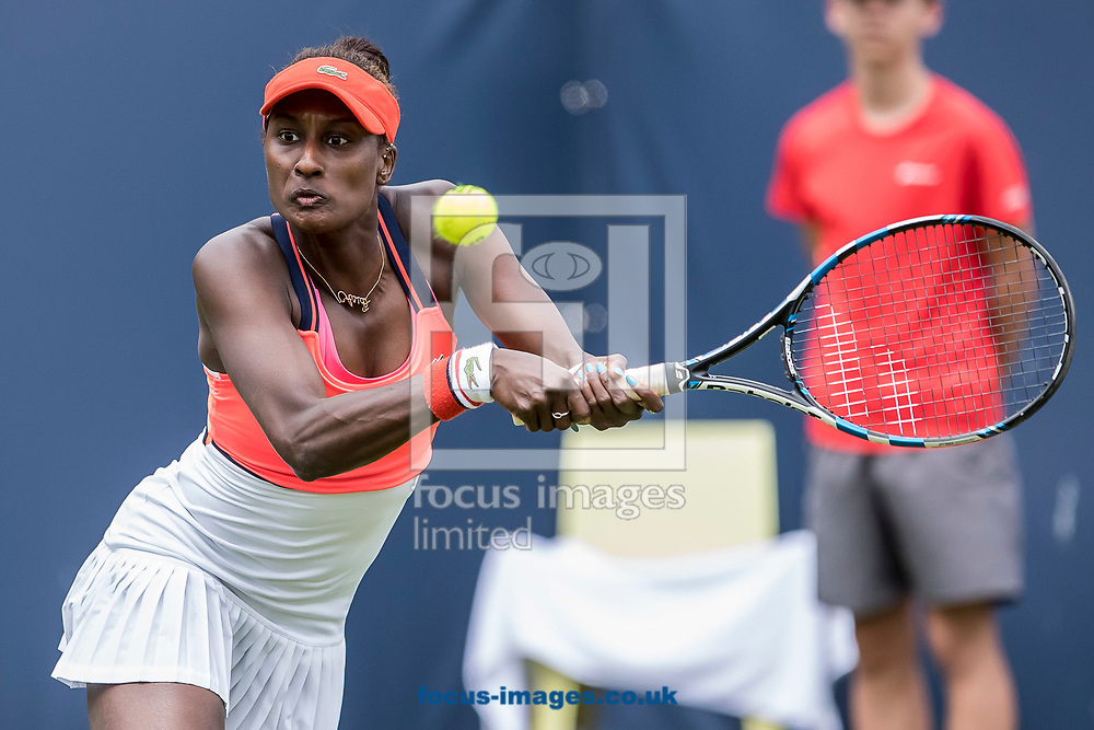 Asia Muhammed (USA) on day two of the Ricoh Open Tennis Tournament at the Autotron, Rosmalen, Netherlands.<br /> Picture by Joep Joseph Leenen/Focus Images Ltd +316 5261929<br /> 13/06/2017<br /> ***NETHERLANDS OUT***