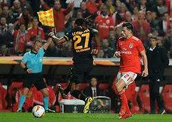 February 22, 2019 - Na - Lisbon, 21/02/2019 - SL Benfica received Galatasaray SK tonight at Est√°dio da Luz in the second qualifying round of the Europa League 2018/2019. Pizzi  (Credit Image: © Atlantico Press via ZUMA Wire)