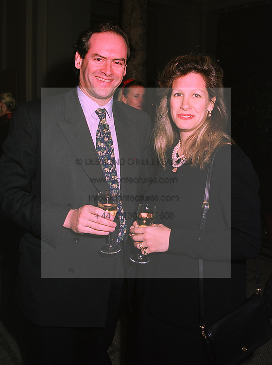 MR JONATHAN MARKS QC & MRS MARKS at a party in London on 25th November 1997.MDR 16