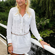 NLD/Amsterdam/20120822 - Perspresentatie SBS Sterren Springen, deelneemster Kimberly Klaver