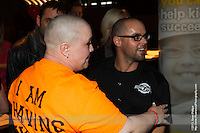 I volunteered my time at a recent charity fundraiser hosted by my friend Sarah Wingert in support of the Kids Cancer Care Foundation of Alberta. Sarah had her head shaved bald as a fundraiser for the KCCFA and raised over $10,000 to help support kids and families impacted by childhood cancer...Thanks to Craft Beer Market in Calgary for providing the space, to Best of Seven Barbers for doing such a great job in exposing Sarah's bald head, and to Village Brewery for providing drinks for everyone!..©2013, Sean Phillips.http://www.RiverwoodPhotography.com