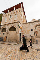 Via Dolorosa (The Stations of the Cross), Christian Quarter, Old CIty, Jerusalem, Israel.
