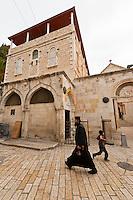 Via Dolorosa (The Stations of the Cross), Christian Quarter, Old CIty, Jerusalem, Israel.